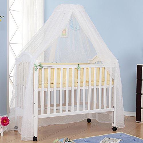 爱斯博儿婴儿床蚊帐 婴儿床通用蚊帐 适用婴儿床