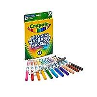 Crayola 绘儿乐 12色可水洗细头水笔 58-7813