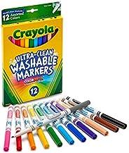 Crayola 绘儿乐 12支 精细可水洗记号笔
