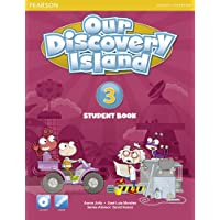 Our Discovery Island American Edition Students' Book with CD-rom 4 Pack