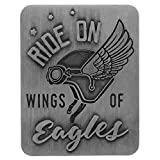 Ride on Wings of Eagles,守护鹰遮阳帽夹。