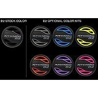 Atomic Aquatics Color Kit for B2 调节器 黑色 02-0301-3P - 02-0309-3P