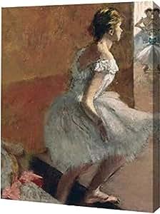 """PrintArt Danseuses Montant Un Escalier 13"""" x 16"""" GW-POD-64-394110-13x16"""
