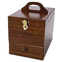 茶谷产业 日本制造 木质盒 木制 多色 H23×W20×D31.5cm、高さ*大28.5cm -