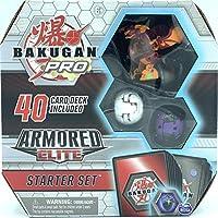 Bakugan Pro,装甲精英入门套装,带变身生物,Pyrus Batrix,适合 6 岁及以上儿童
