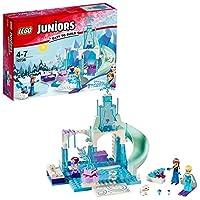 LEGO 乐高  拼插类 玩具  Juniors 小拼砌师系列 安娜和艾莎的冰雪乐园 10736 4-7岁