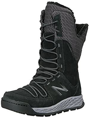 New Balance Women's 1100V1 Fresh Foam Walking Shoe Black/White 10 B US