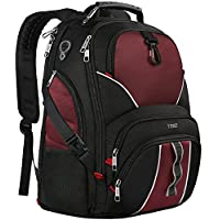 TSA Friendly 笔记本电脑背包 Black & Red 17/15.6/15 /14/13 inch