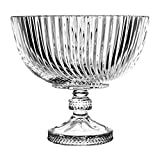 Crystaljulia 碗,水晶,23,5 厘米,5 x 23.5 x 21厘米