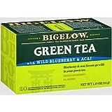 Bigelow 桃子绿茶,20 盒装(6 盒装) 每包6条