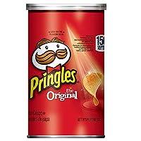 Pringles 馬鈴薯薯片,原味,Grab and Go,每盒800克(12罐)