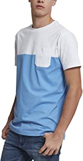 Urban Classics 男式拼色夏季口袋 T 恤