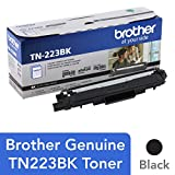 Brother Genuine TN223BK 标准产量 黑色 墨盒,TN223