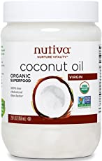 Nutiva 优缇 纯鲜初榨椰子油858ml(美国进口)