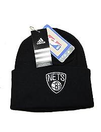 NBA 阿迪达斯男式洛杉矶湖人队翻边针织无檐小便帽