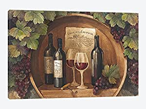 iCanvasART WAC51 At The Winery Canvas Print by Albena Hristova, 26 by 18-Inch, 0.75-Inch Deep