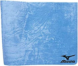 MIZUNO(美津浓) 泳毛巾 吸水速干毛巾(薄款)高吸水 水浴巾 N2JY5010 泳池 游泳 19:浅灰蓝色