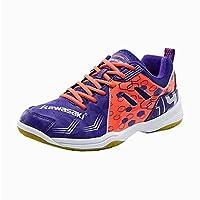 Kawasaki 川崎 追风系列 中性 羽毛球鞋 专业羽毛球鞋 K-070-p 紫色 (35, 紫色)