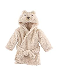 Hudson Baby 柔软毛绒婴儿浴袍 Cozy Bear 0-9 个月