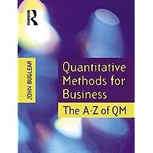 Quantitative Methods for Business (English Edition)