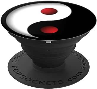 阴阳服装上衣设计 Ying X 复古流行球座握把和支架 适用于手机和平板电脑260027  黑色