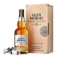 Glen Moray 格兰莫雷斯佩塞单一麦芽威士忌25年陈酿700ml(英国进口)