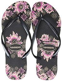 havaianas 女式修长有机凉鞋人字拖凉鞋