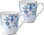 Noritake(诺莉塔克) 骨瓷 蓝宝石 马克杯 对装 P97280/4562