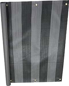 Angerer 阳台围布 PE面料,粗条纹图样 75 cm hoch, Länge: 6 Meter 3322/3800_600