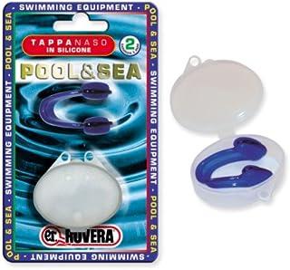 Rovera N102 游泳海硅胶塞,配有移动,蓝色,尺寸独角卡