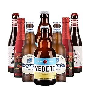 【进口啤酒组合装】VEDETT 白熊啤酒套装 比利时精选销啤酒礼包