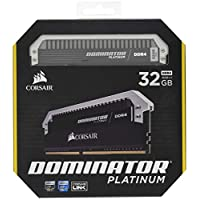 CORSIAR 美商海盗船 DOMINATOR PLATINUM 32GB(2x16GB)DDR4 3200MHz C16台式机内存