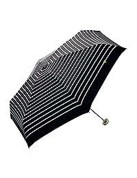 w.p.c 拉链包迷你伞 共3色 折叠伞 手开伞 6根伞骨 50厘米 轻量 黑 1×75×10cm
