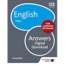 English for Common Entrance Two Answers (GP) (English Edition)