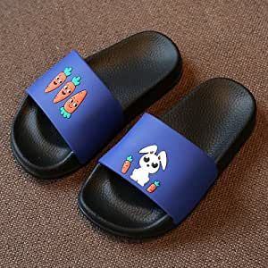 儿童洗澡拖鞋男童夏天卡通室内柔软防滑可爱家居小孩托鞋女宝宝凉拖鞋浴室拖鞋