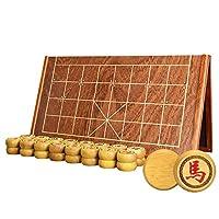中国象棋-黄金檀实木象棋-木盒装/折叠棋盘套装-御圣