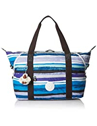 Kipling 凯浦林 ART M 帆布和沙滩手提包