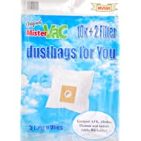 Mistervac MV 606/真空吸尘袋羊毛 5 层/经济包 30 个袋过滤器 + 6/适用于三星SC,污恶魔