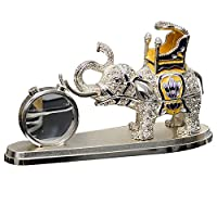 GREAT LIFE 汽车摆件香水座车载大象摆件水晶摆件 汽车香水车用汽车摆件 象牙白(亚马逊自营商品, 由供应商配送)