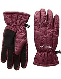 Columbia 女式 Gloves Mighty Lite 手套,葡萄*,大号