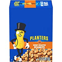 Planters Super Tube Nuts, Honey Roasted Peanuts,15 Count 2.5 Ounce