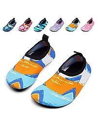 GIOTTO 水上运动赤脚 aerobic 鞋子轻质快干浅绿色短袜适用于沙滩椅游泳池游泳 yoga