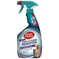 Simple Solution 宠物污渍和*剂 | 酶清洁剂带 2X 专业*清洁剂 32 oz spray