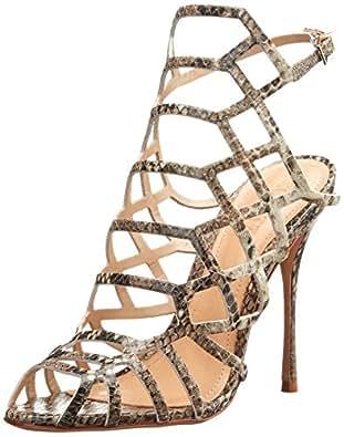 Schutz Juliana 女士正装凉鞋 珍珠蛇 9 M US
