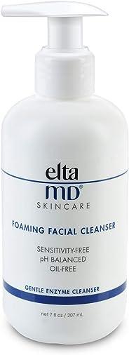 EltaMD 泡沫洁面乳,温和,无油,无对羟基苯甲酸酯,相关专业人士推荐含酶和氨基酸洗面奶,7.0盎司(约198.45克),207毫升