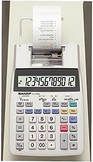 夏普 打印机计算器 半台式型 12位 EL-1750V