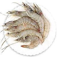 大渔场 厄瓜多尔进口冷冻皇冠白虾 1.8kg 盒装 (原味, 50-70只)