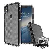 Prodigee [Safetee] iPhone Xs Max 6.5 英寸保护壳-软硅胶缓冲透明*级认证跌落冲击测试 *灰色