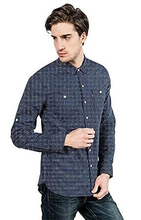 Levi's 李维斯 男式 长袖衬衫 21971-0009 蓝色 XS