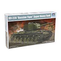 Kv-220 -Russian Tiger- Super Heavy Tank 1/35 Armor Model Kit